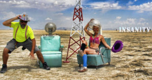 Insanity Burning Man