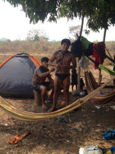 IMG 3374 225x300 Amazonie / Brésil   Cérémonie du Kuarup