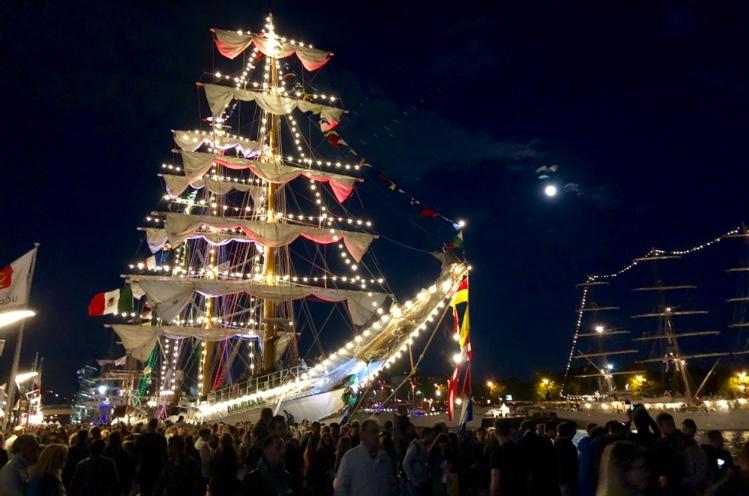 IMG 2720 À l'Armada, le Cuauhtémoc nous offre une fête des pères pas comme les autres !