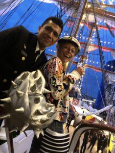 IMG 8885 225x300 À l'Armada, le Cuauhtémoc nous offre une fête des pères pas comme les autres !
