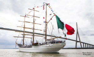 IMG a4689 300x183 À l'Armada, le Cuauhtémoc nous offre une fête des pères pas comme les autres !