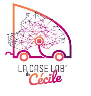 logo couleur La Case Lab de Cécile